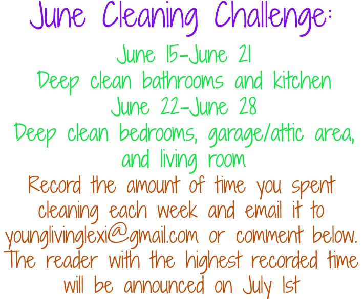 june cleaning challenge